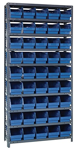 Quantum Storage 1875-204BL Store More Steel Unit OFFicial site 6 Las Vegas Mall Shelving with