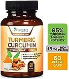 Turmeric Curcumin Highest Potency 95% Curcuminoids 1950mg with...