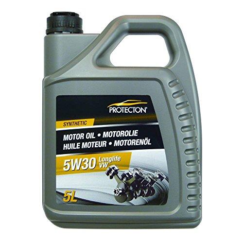 Protecton 1890509 Motorolie Synthetisch 5W30 Lange levensduur 5-liter, Bruin