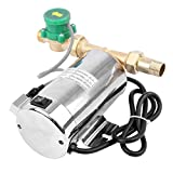 TryE 110V 90W Water Pressure Booster Pump Automatic Shower Booster Water Pump with Water Flow Switch Household (60HZ 87PSI )