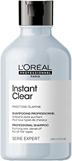 L'Oréal Professionnel | Shampoo, Anti-Dandruff for All Hair Types, Gel Cream Texture with Piroctone Olamine, Serie Expert ...