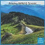 Alaska Wild & Scenic 2022 Calendar: Official Alaska Wildlife 2022 Calendar, 16 Month Square Calendar
