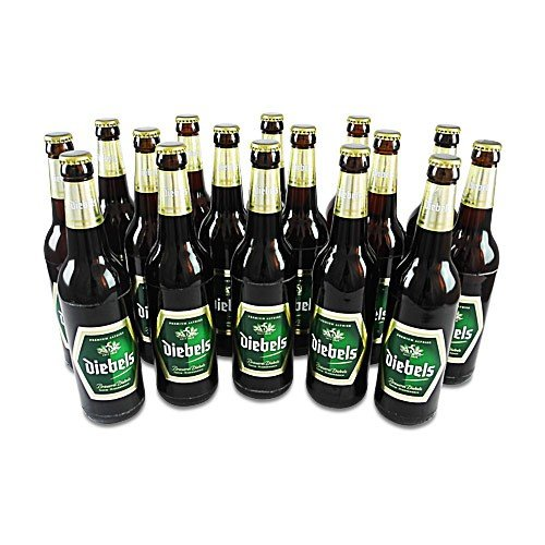 Diebels Alt - (16 Flaschen à 0,5 l / 4,9 % vol.)inc. 1.28€ MEHRWEG Pfand