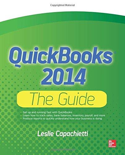 QuickBooks 2014 The Guide