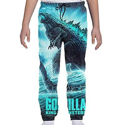 Cool Godzilla 2 Poster Girls 3D Printed Casual Jogger Pants Teen Joggers Cool Sweatpants