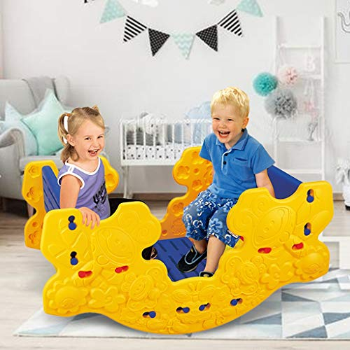 N/J Multifunction Child Climbing and Rocking Hors Suit Old Rocking Chair Trojan for Indoor and Backyard