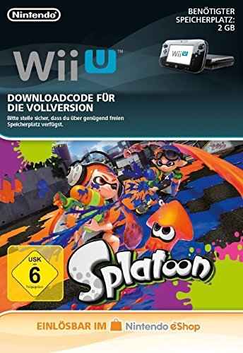 Splatoon [Wii U Download Code]