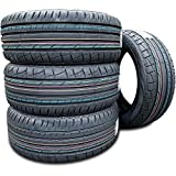 Set of 4 (FOUR) Premiorri Solazo S Plus High Performance Radial Tires-225/45R17 91W