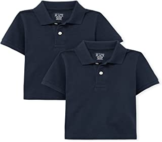 The Children's Place baby-boys Baby And Toddler Uniform Pique Polo 2-Pack Shirt