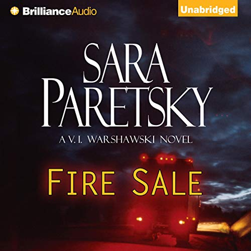 Fire Sale audiobook cover art