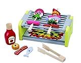 Barbecue/Grill-Set aus Holz, Puppen-Geschirr, Spielküche, Kaufladen