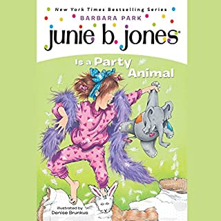 Junie B. Jones Is a Party Animal     Junie B. Jones #10              Written by:                                                                                                                                 Barbara Park                               Narrated by:                                                                                                                                 Lana Quintal                      Length: 45 mins     Not rated yet     Overall 0.0