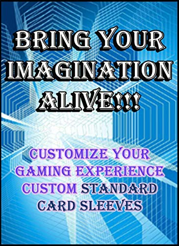 Custom Card Sleeves 120ct with Your Design for Gaming Cards Standard Size Magic The Gathering, Pokemon image