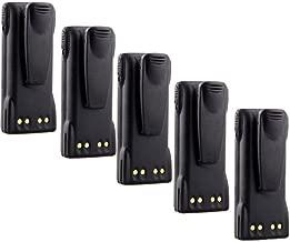 $119 » 7.4v 1600mAh Ni-MH HNN9013 HNN9013B HNN9013DR Battery for MOTOROLA HT750 HT1250 MTX850 MTX950 (5 Pack)