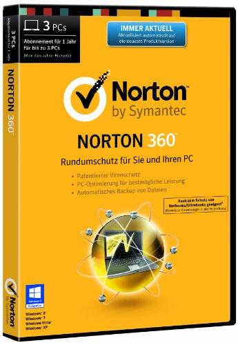 Norton 360 2014 - 3 PCs (DVD-Box)