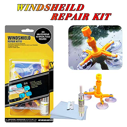 YOOHE Fix Auto Glass Car Windshield Repair Resin Kit For Chips & Scratches