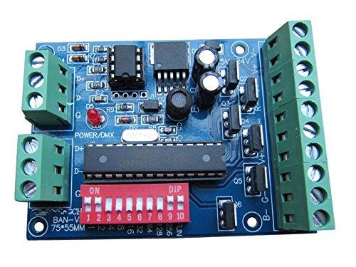 DMX 512 6 CH RGB Decoder 6 Kanal 4A / CH-Steuerpult für LED 5050 RGB Strips