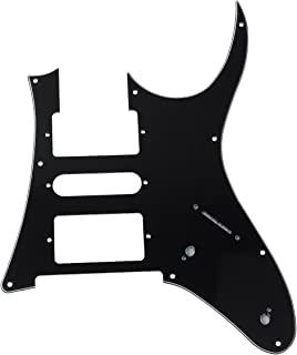 Black Electric Guitar Pickguard For Ibanez replacement