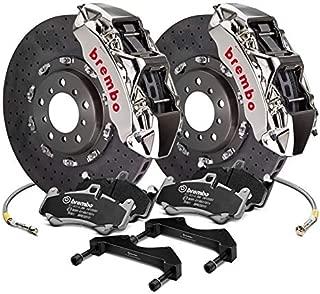 Brembo Rear Brake kit CCMR 380x34 Rotor Monobloc 6-piston Nickel plated Caliper 2L9.9001AR
