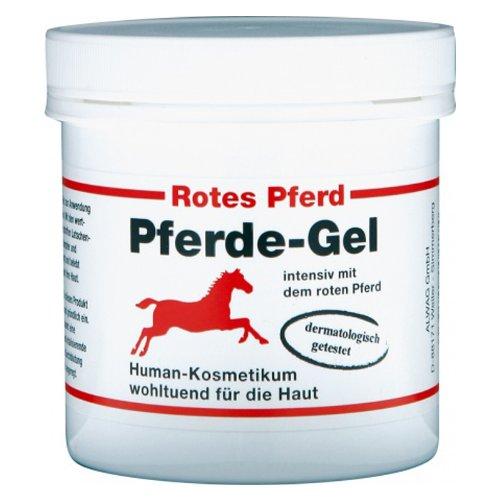 ALWAG Pferde-Gel - Rotes Pferd Gel intensiv 250ml - wohltuend wärmend für die Haut, dermatologisch getestet
