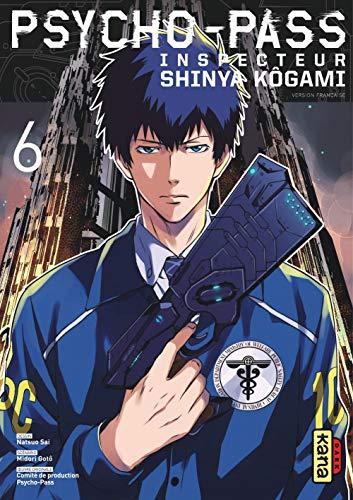 Psycho-Pass Inspecteur Shinya Kôgami - Tome 6 (PSYCHO-PASS INSPECTOR SHINYA (6))