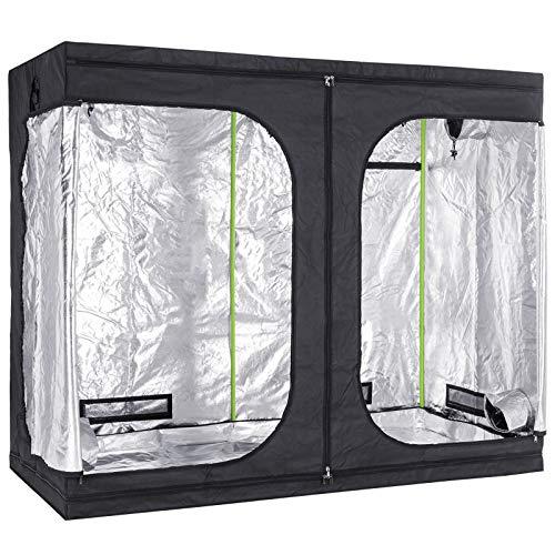 Grow Tent 2.4m x 1.2m x 2m / 240 x 120 x 200