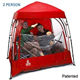 CoverU Sports Shelter – 2 Person Weather Tent Pod (RED ) – Patents...