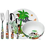 WMF Disney El Libro de la Selva - Vajilla para niños 6 piezas, incluye plato, cuenco y...