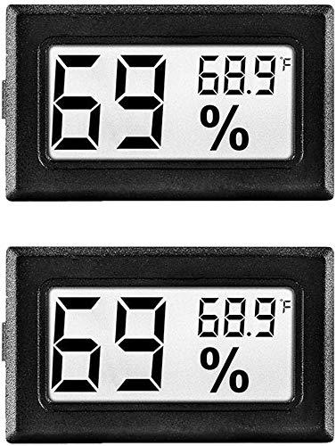(50% OFF) 2 Pack Mini Digital Temperature / Humidity Meter $3.50 – Coupon Code
