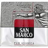 San Marco - Café Moulu Pur Arabica 500G - Lot De 3 - Vendu Par Lot - Livraison Gratuite En France