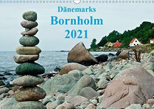 Dänemarks Bornholm 2021 (Wandkalender 2021 DIN A3 quer)