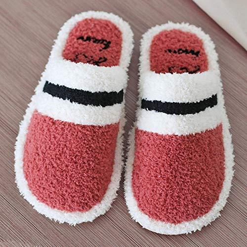 direction Zapatos de Piscina,Zapatillas de algodón de Fondo Suave Antideslizantes para el hogar de Pareja de otoño e Invierno-4_43-44,Botas de Deportes acuáticos