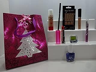 Cesta de maquillaje para regalo de 12 piezas de Clearance ~ – Envuelto para regalo – mezcla de marcas de maquillaje cesta de regalo para ella