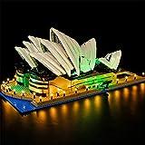 TMIL Kit De Iluminación LED para Sydney Opera House Setcompatible con Lego 10234 Bloques De Construcción Modelo (LED Incluido Solamente, NO Modelo)
