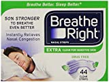 3M Breathe Right Nasal Strips Extra For Setive Skin Strips By Breathe Right