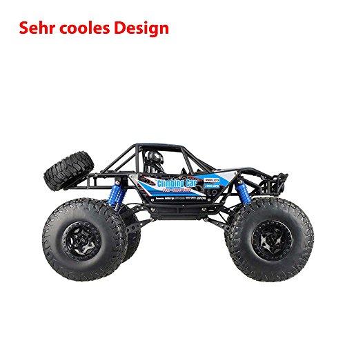 RC Auto kaufen Crawler Bild 2: 2,4Ghz RC ferngesteuerter 4WD Antrieb Crawler-Buggy, Kletterfahrzeug, Truck, Fahrzeug, Maßstab 1:14, Auto, Car, Komplett-Set*