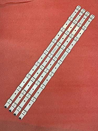 Miwaimao 4 PCS LED Backlight Strip for LG 65UK6300 65UK6400 65UK6470PLC 65UK6300PUE SSC_65UK63_9LED_SVL650A95 Trident_65UK63 SVL650A75