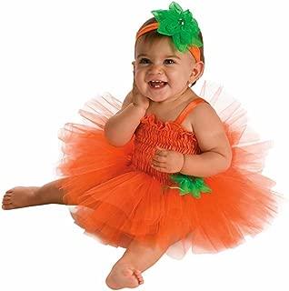 Rubie's Costume Newborn Pumpkin Tutu Dress