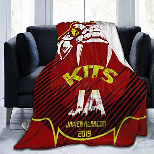 Kits Fts Manchester Sherpa Manta | Manta de felpa, texturizada, forro polar para sofá cama | Manta de microfibra suave cálida reversible 50