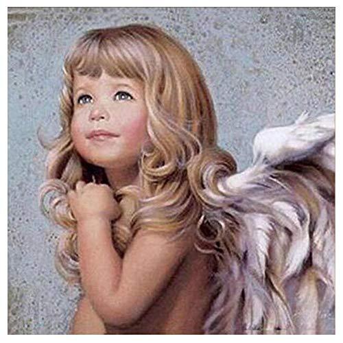 ZPLLR Pintura de Diamante 5D de Bricolaje - Lindo Angelito - Obra...