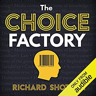 The Choice Factory audiobook cover art