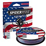 SpiderWire Stealth Superline Fishing Line American Camo, 10lb - 164yd