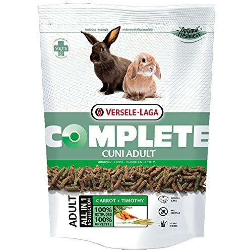 Versele-Laga Complete alimento para Conejo Adulto 500 gr | Pienso para Conejos | Comida para Conejos