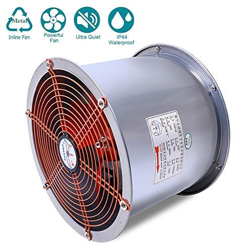 120W Industria Tubo Ventilador Extractor de Aire en Línea con Motor de Dos-velocidades ø355 mm para Oficina, Hotel, Baño - 2200m³/h Ventilación