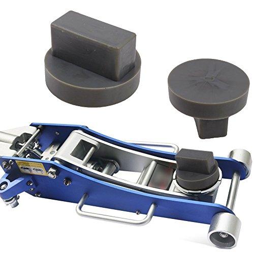 ICTRONIX 68x40mm Nut & Waffel Gummiauflage Gummiklotz Gummiblock Für Hebebühne Wagenheberaufnahme Adapter Wagenheber