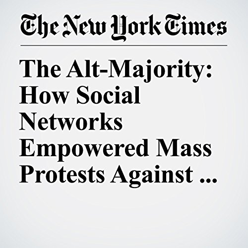 The Alt-Majority: How Social Networks Empowered Mass Protests Against Trump copertina