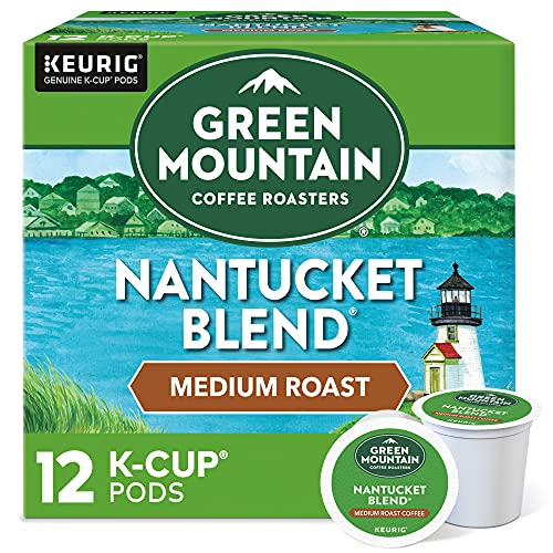 Green Mountain Coffee, Coffee Nantucket Blend Pods, 0.33 Ounce, 12 Count