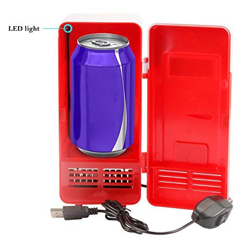 Sidiou Group Práctico Mini USB refrigerador enfriador de bebidas ...