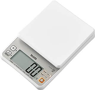 タニタ はかり スケール カロリー 2kg 0.5g ホワイト KJ-215 WH ごはんのカロリーがはかれる