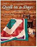 Make a Quilt in a Day 6th Edition Log Cabin Book by Eleanor Burns